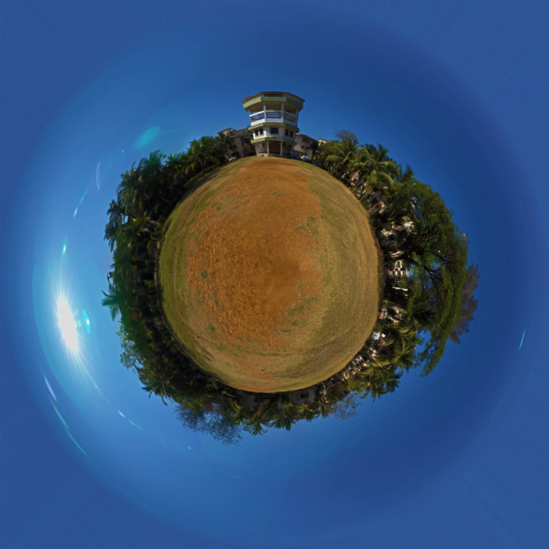 little planet Central Park by Shaktivrat Khanvilkar