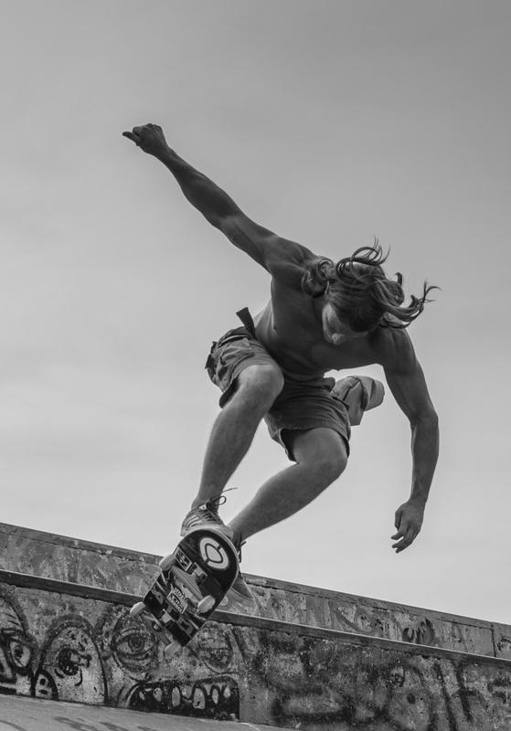 Skateboarder by Robert Watt