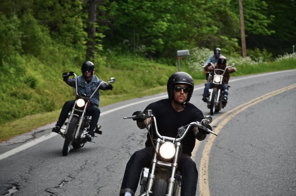Bikers, Vermont by Robert Watt