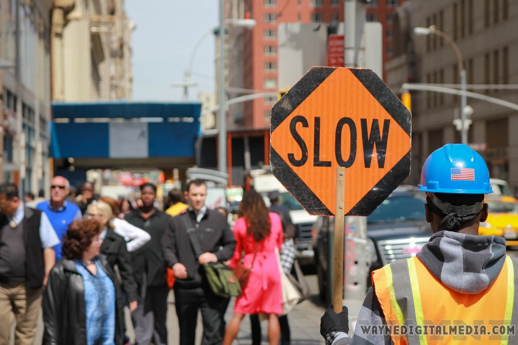 Slow down by Dwayne Crawford