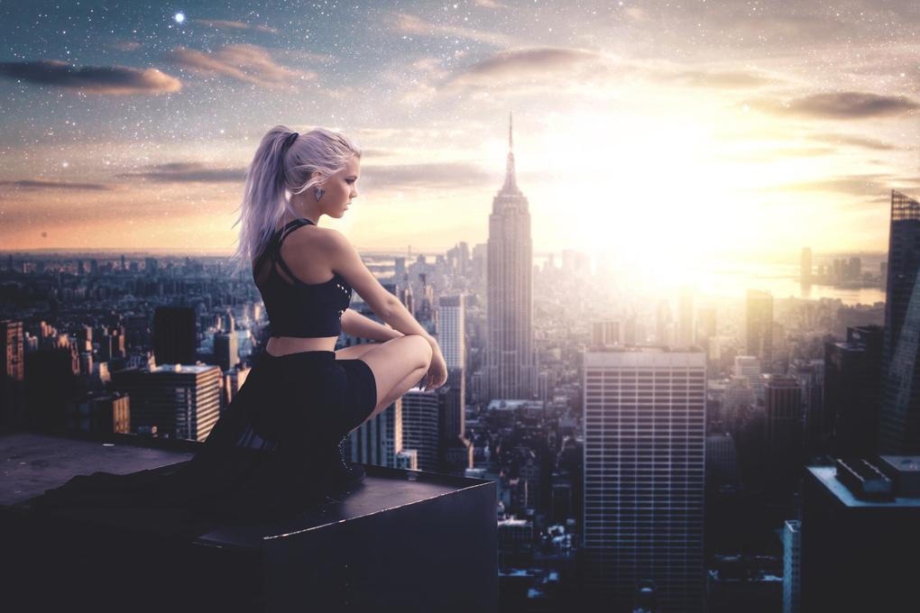 Rooftop Dreams by Josean Rosario