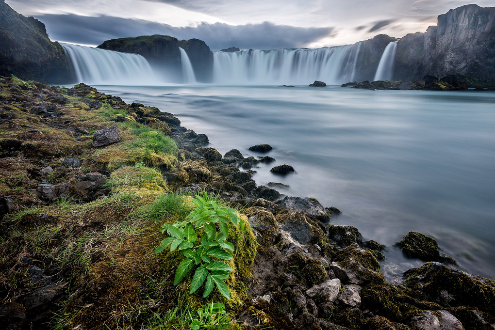 Goðafoss, Iceland by Oliver Wagner