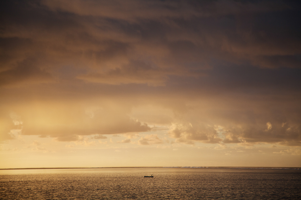 The Lonely Fisherman by Jay Caboz