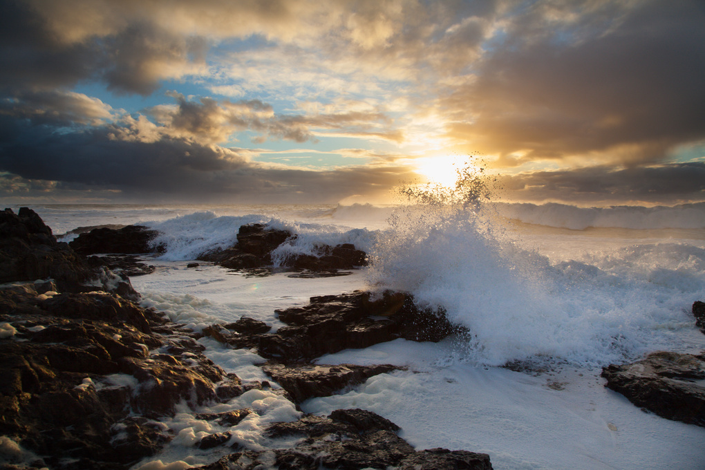 Wave at Sea Point by Jay Caboz