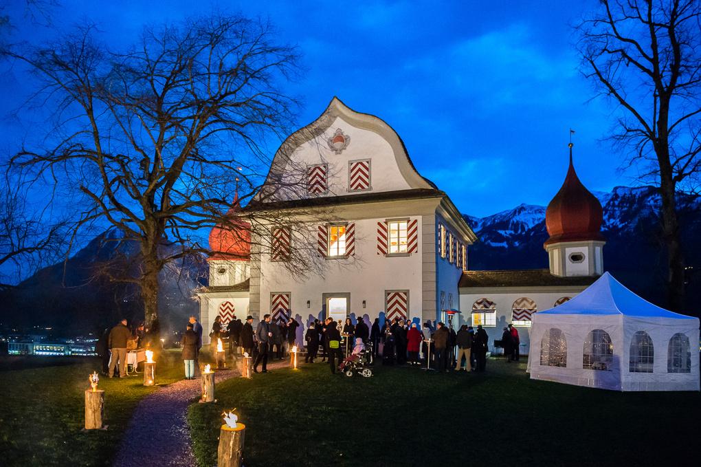 Wedding Blue Hour by Izedin Arnautovic