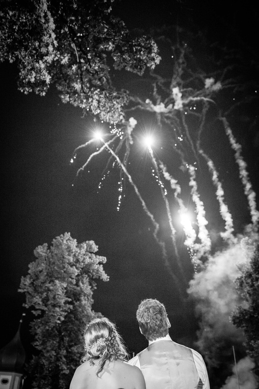 Wedding Fireworks by Izedin Arnautovic