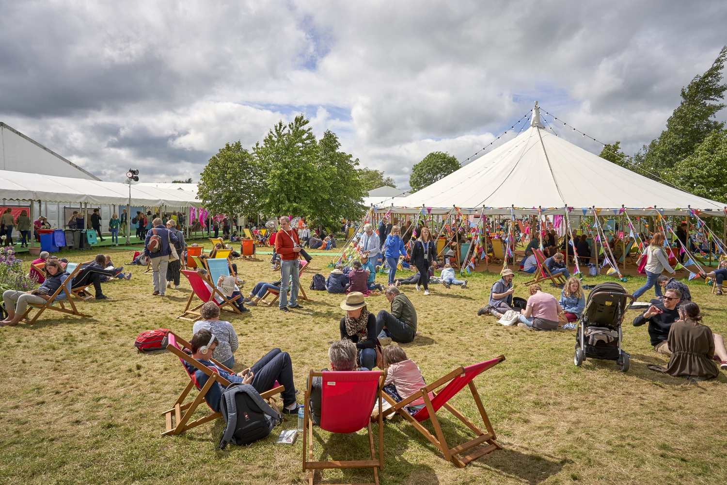The Hay Festival, 2019 by Richard Downs