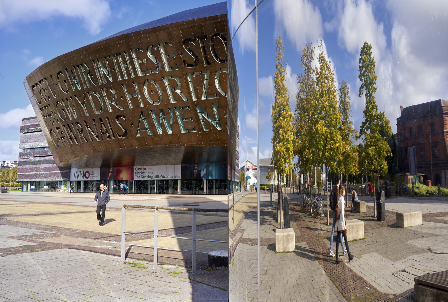 Wales Millennium Centre by Richard Downs