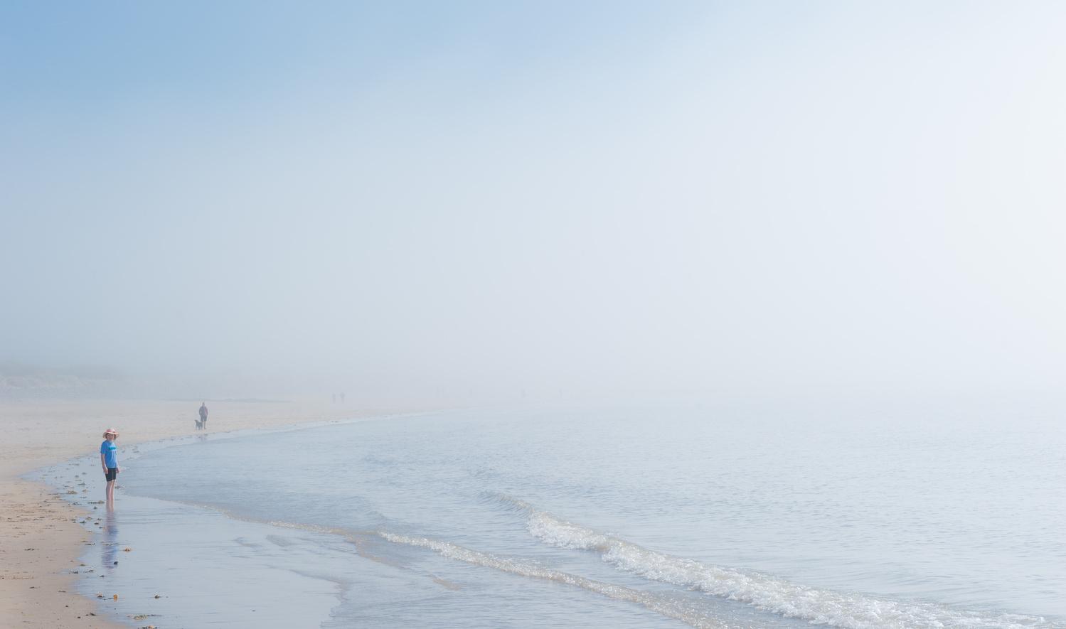 Sea mist by Richard Downs