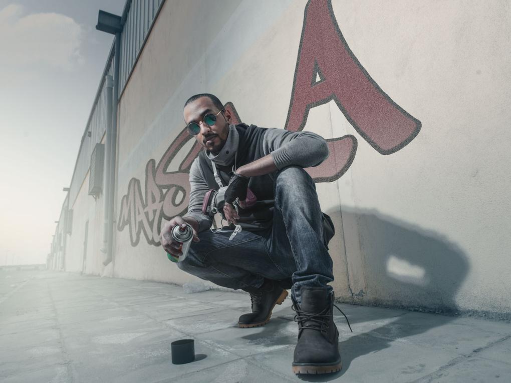 Graffiti by Ibrahim Alrabeh