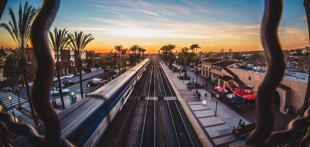 Motion above Downtown by Chris Pizzitola