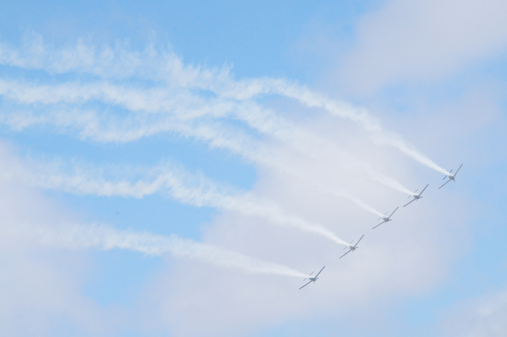 Thunderbirds Airshow by Lucy Yukhan