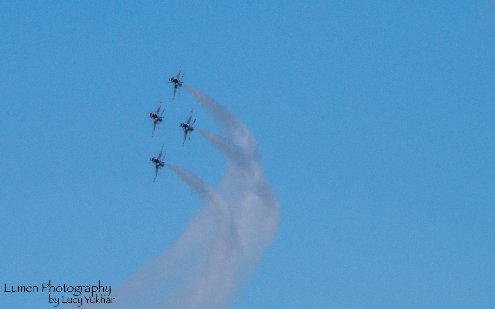 Thunderbirds Airshow 2 by Lucy Yukhan