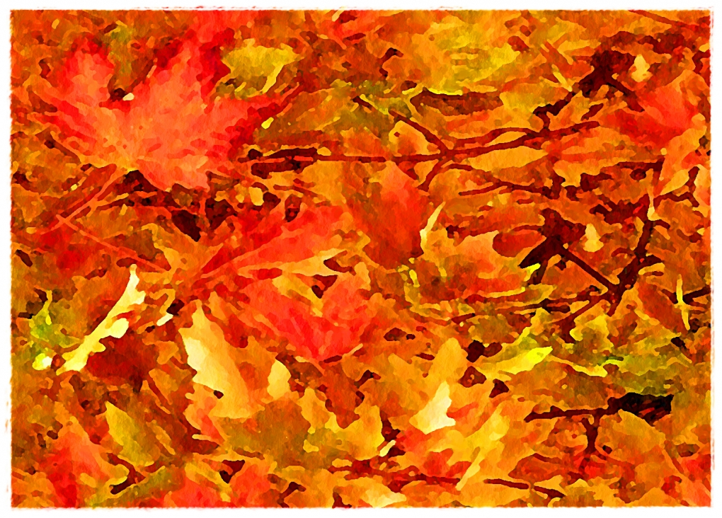 Autumn Leaves by James Beck