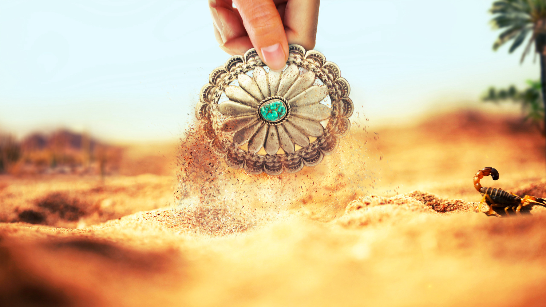 Sand Cast Buckle by Steven Bongers