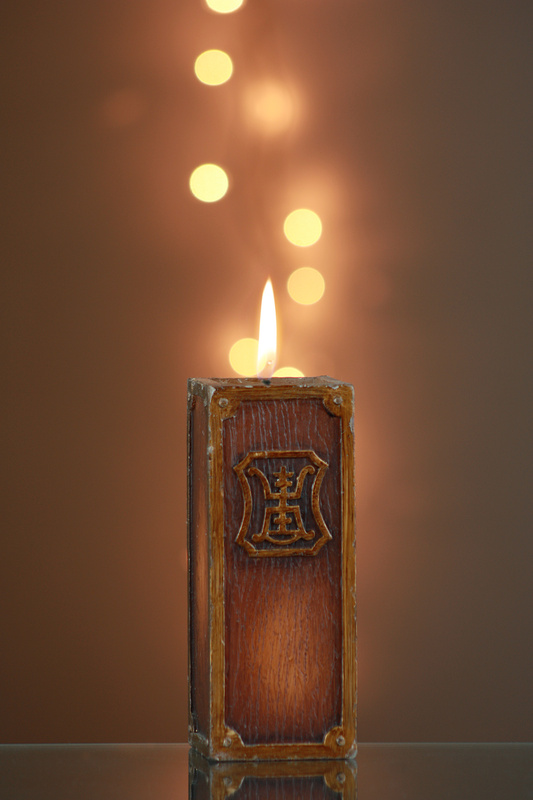 Bokeh Candle by Steven Bongers