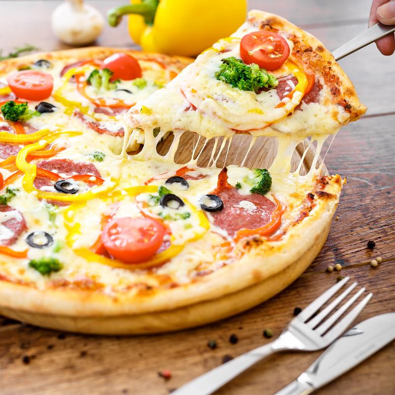 pizza by Vladimir Chernyadyev