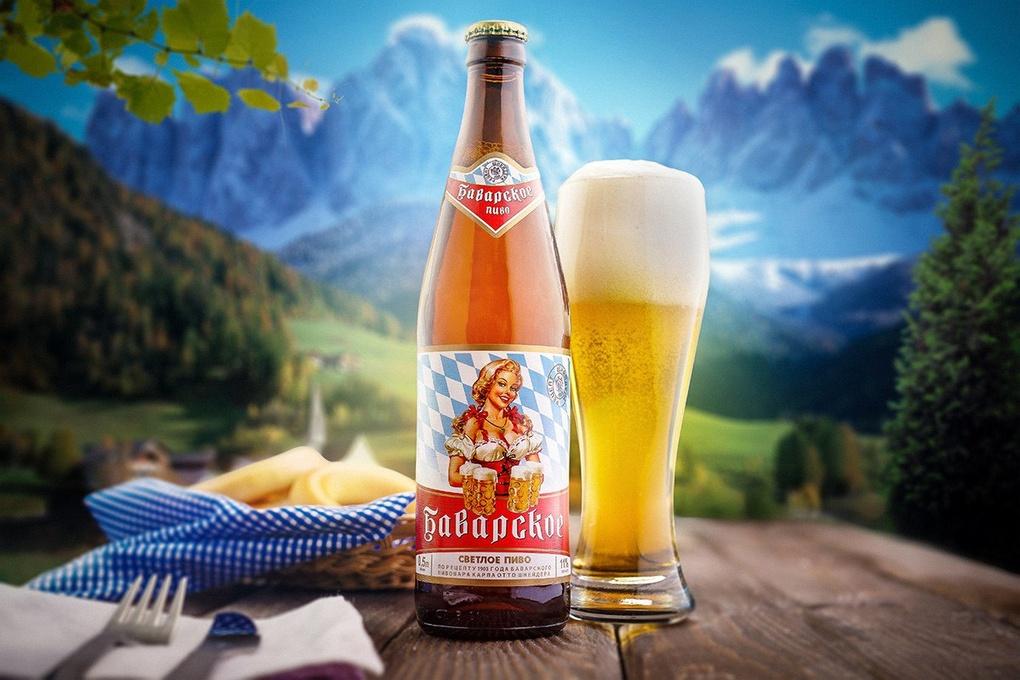 Beer advertising by Vladimir Chernyadyev