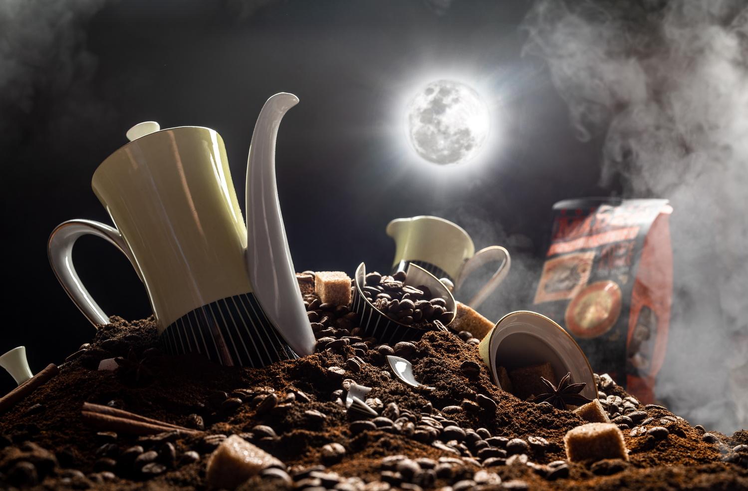Coffee stuff by Vladimir Chernyadyev