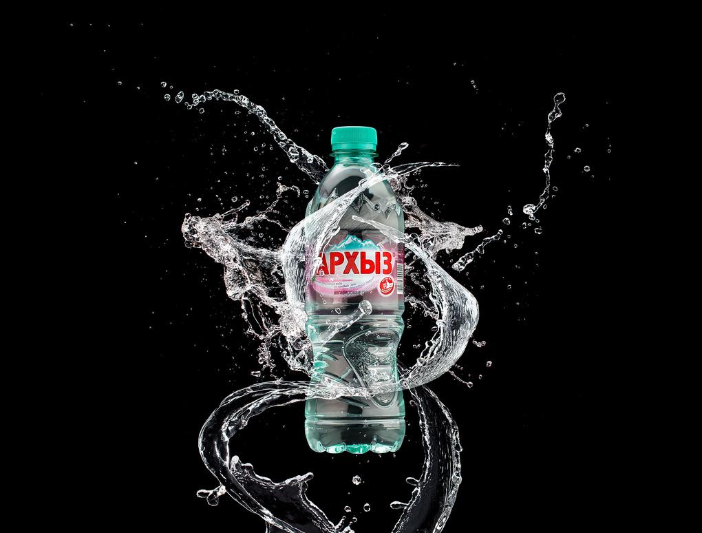 Arkhyz Mineral Water by Vladimir Chernyadyev