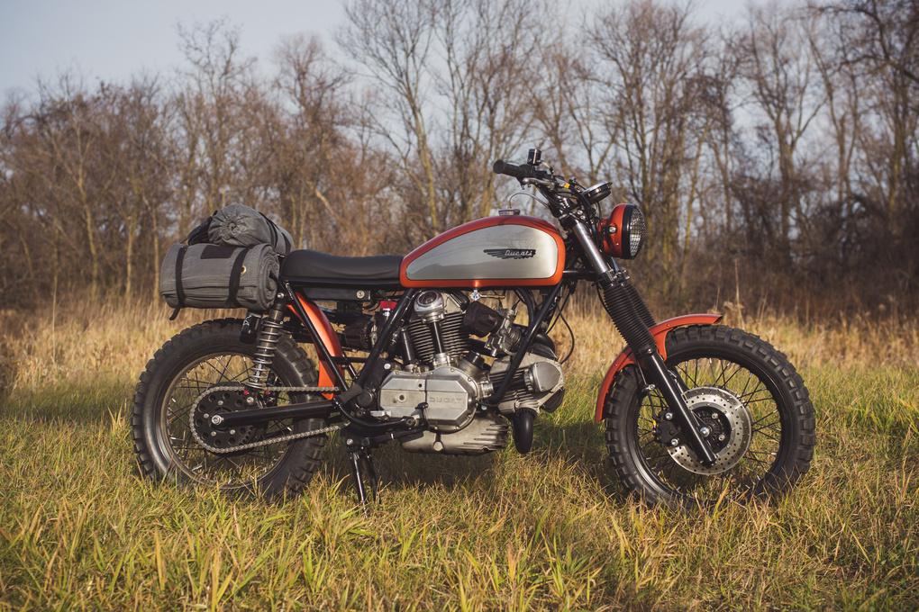 Analog Motorcycles Super Scrambler Ducati by Grant Schwingle