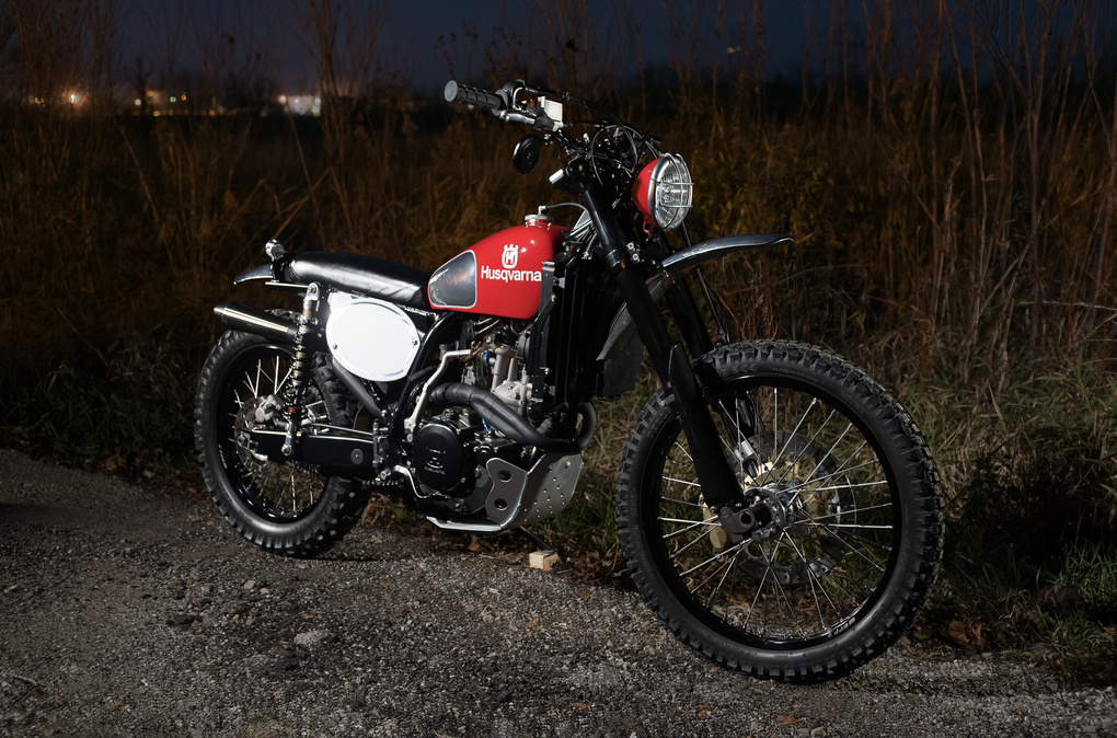 Analog Motorcycles Husqvarna 510 'Double Take' by Grant Schwingle