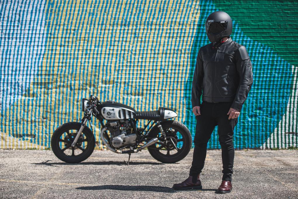 2016 Pagnol Moto M1 promo shoot by Grant Schwingle