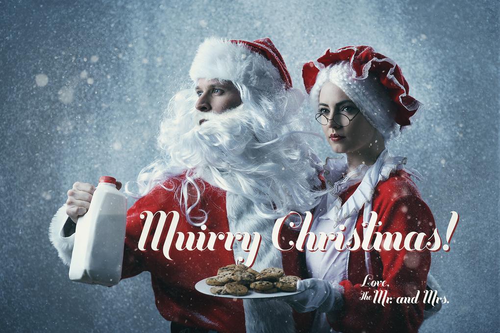 Muirry Christmas! by justin muir