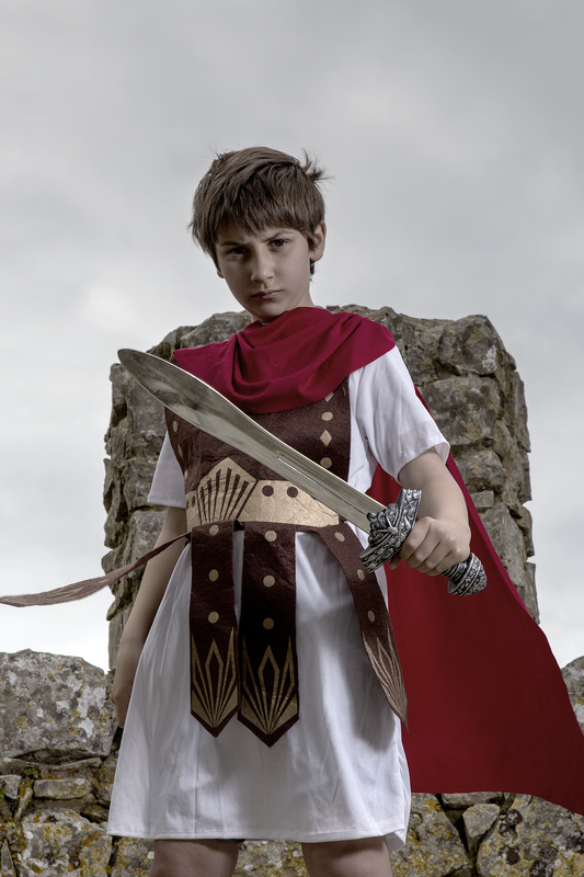 Roman Soldier Apprentice  by António Laureano