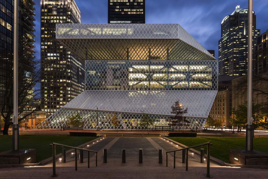 Seattle Library by Gabe Border