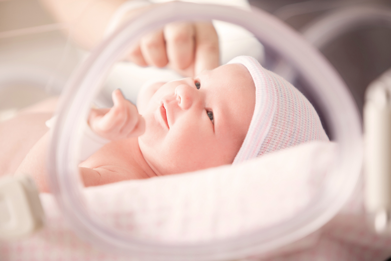 Healthcare Photography - Newborn Preemie by Rick Lohre