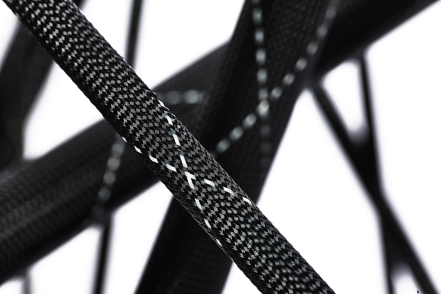 Product Photography of braided tubes for auto manufacturer by Rick Lohre