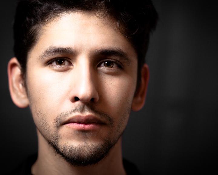 Headshot of a friend by Carlos Duncker