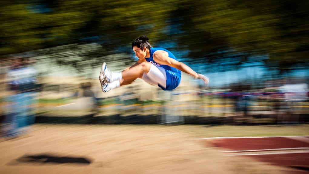 Loooong Jump by David Flynn