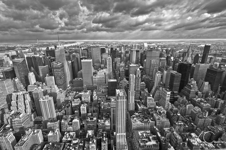 New York City Skyline by Ken Cave