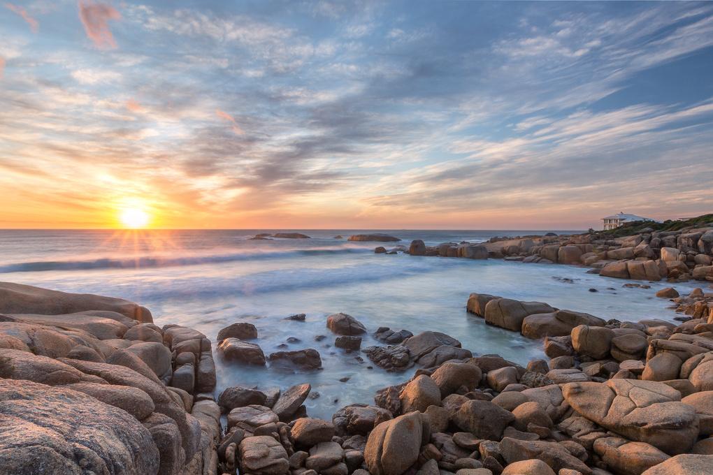 Sandy Bay Cape Town by Lyndon Brandt