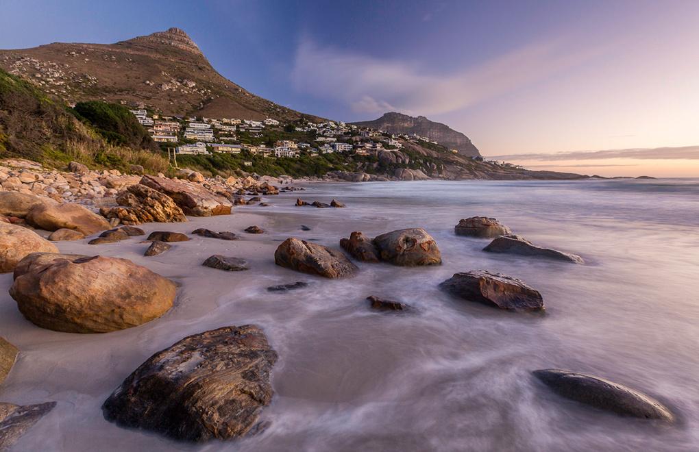 Llandudno Beach Cape Town by Lyndon Brandt