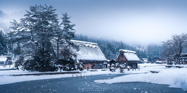 The Village of Shirakawa-go by Chris Sanan