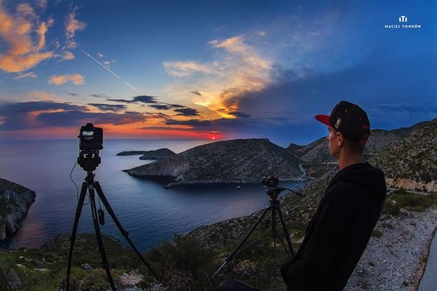 Capturing sunset by Maciej Tomków