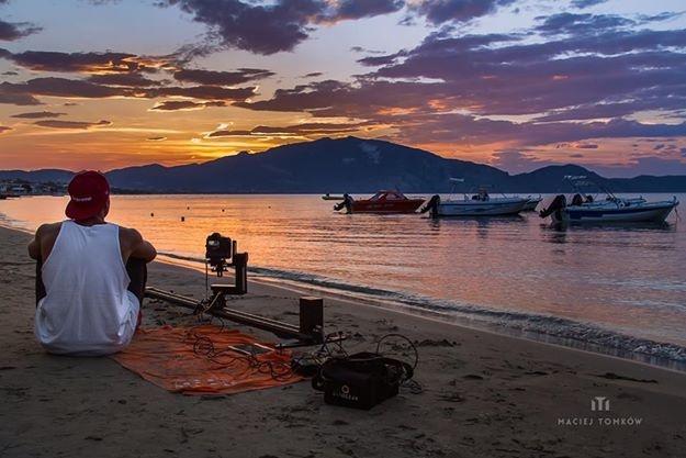 Capturing sunrise by Maciej Tomków