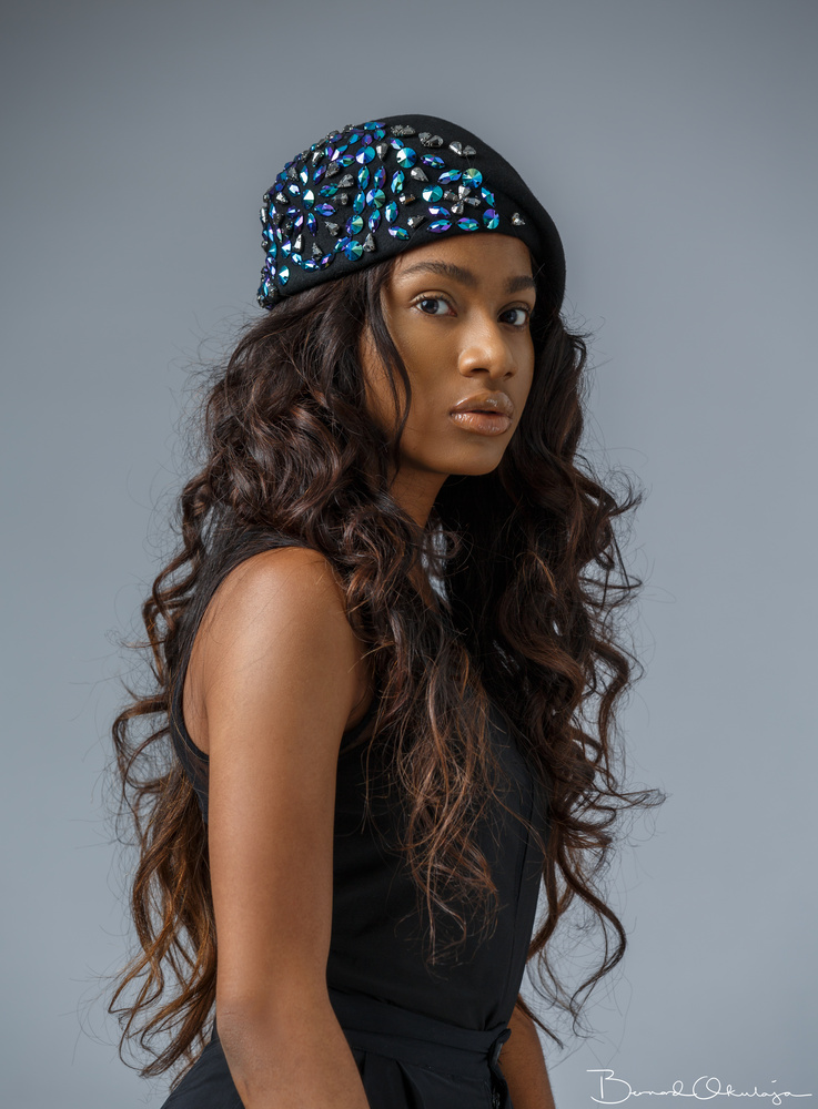 Beautiful Beret  by Bernard Okulaja