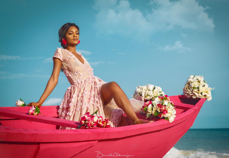 Pink Queen by Bernard Okulaja