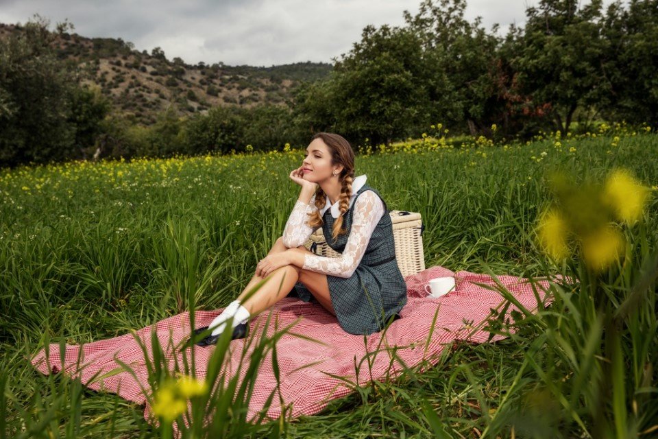 Lolita's picnic by Christopher Stavrinides