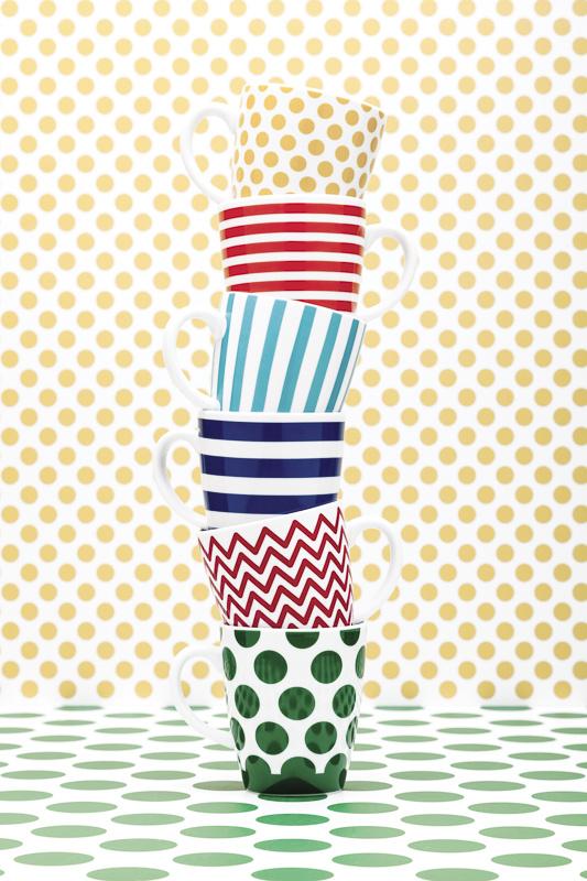 Bialetti cups by Paolo Tangari