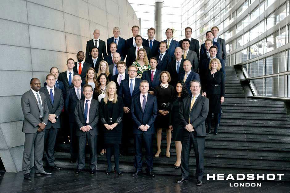 Corporate Group shot by David Locke