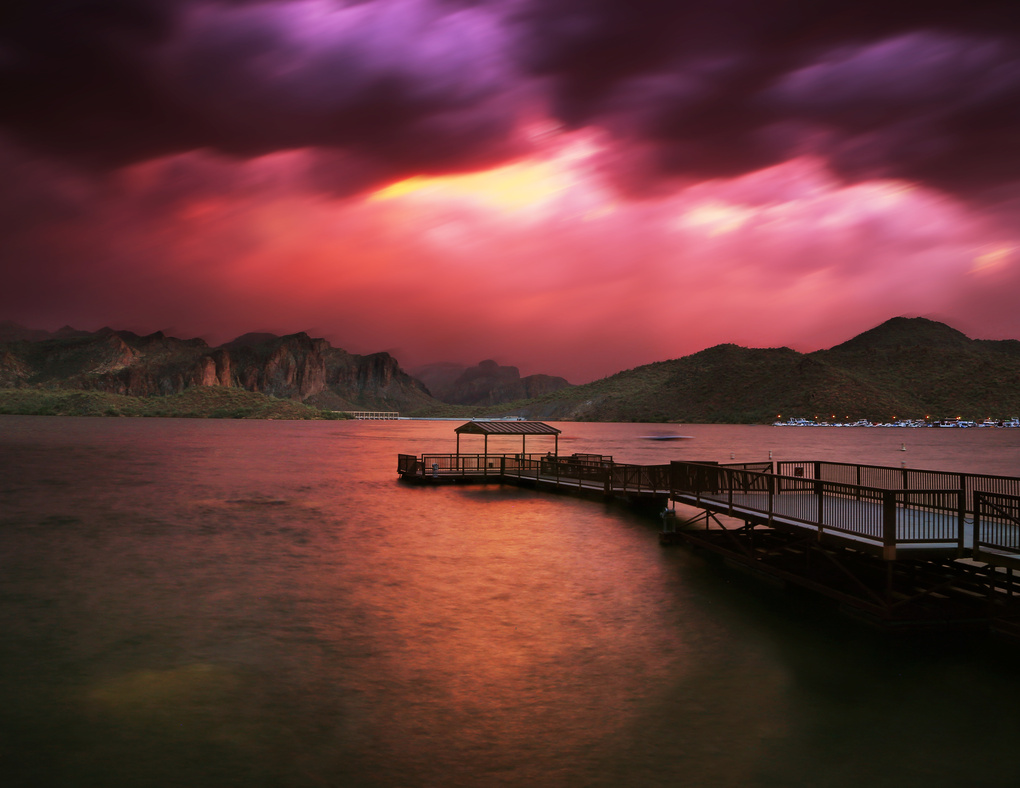 Eye of Sugaro Lake by Aidan Guerra