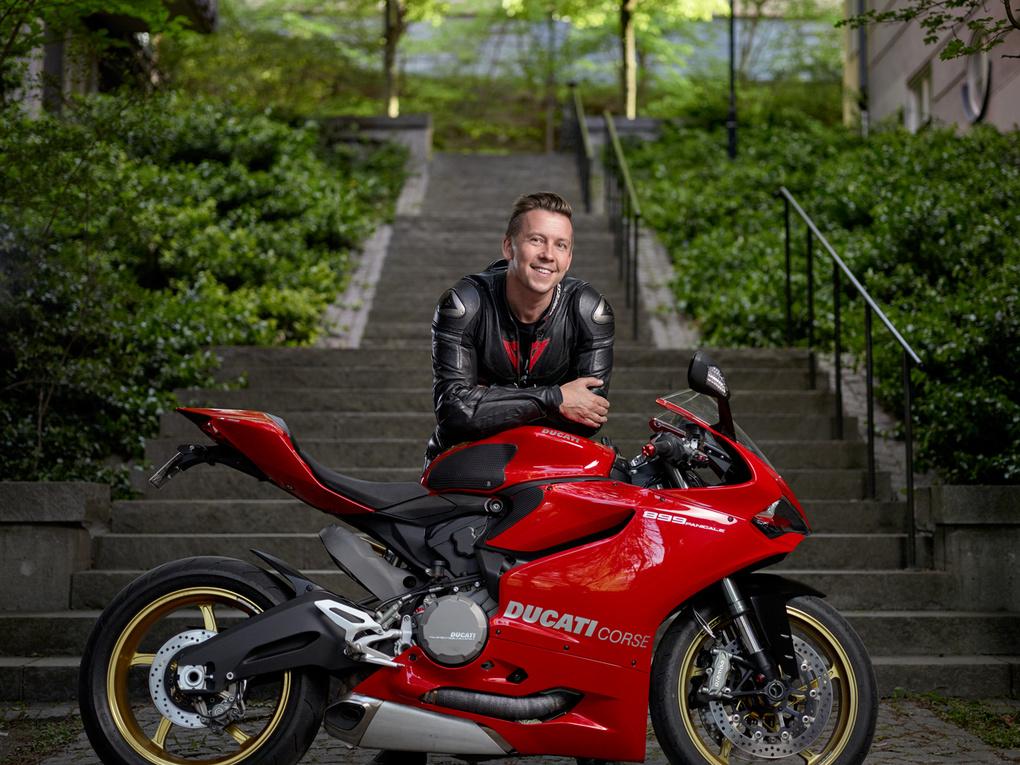 The Ducati Portrait by Joakim Drake