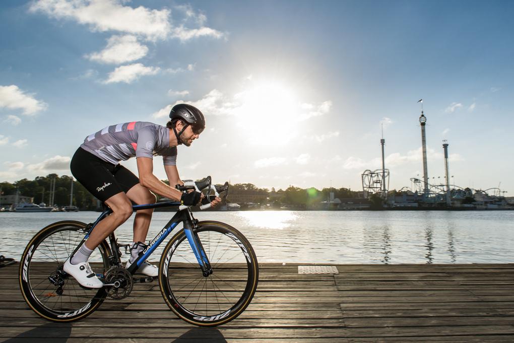 Cyclist #2 by Joakim Drake