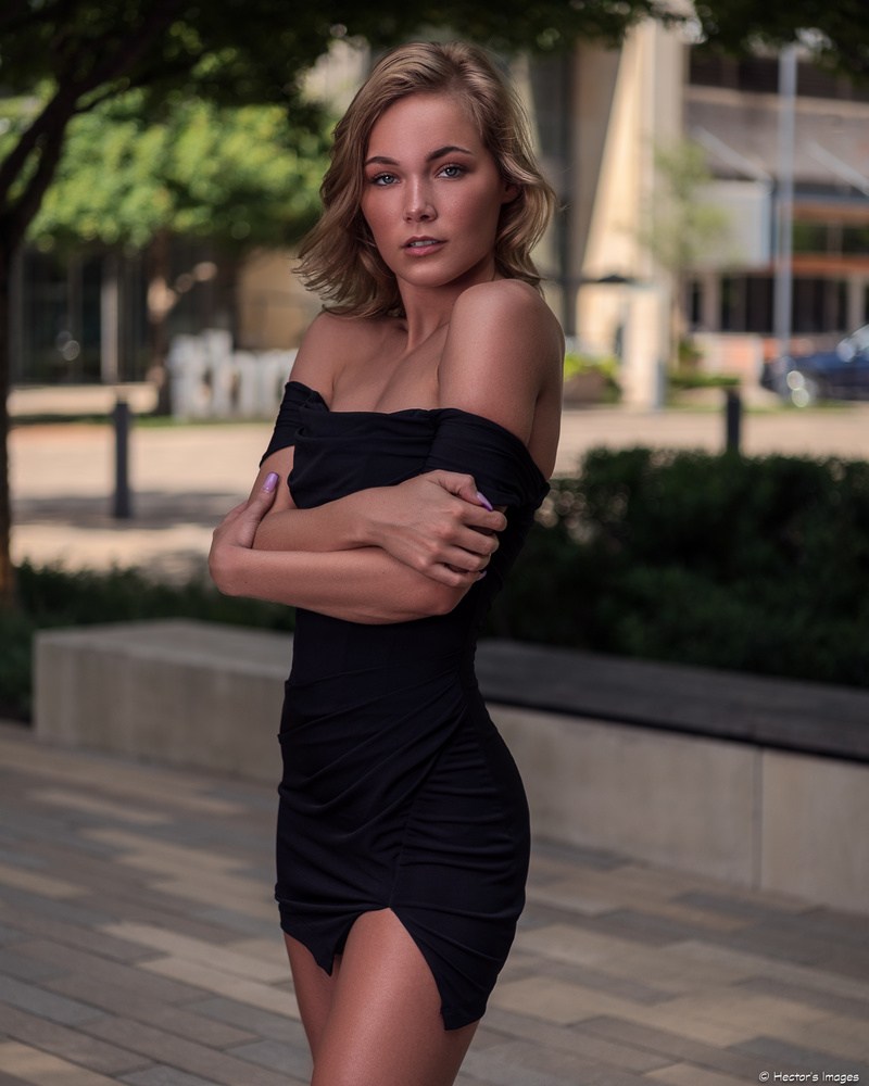 Ady in a LBD by Hector Reyes