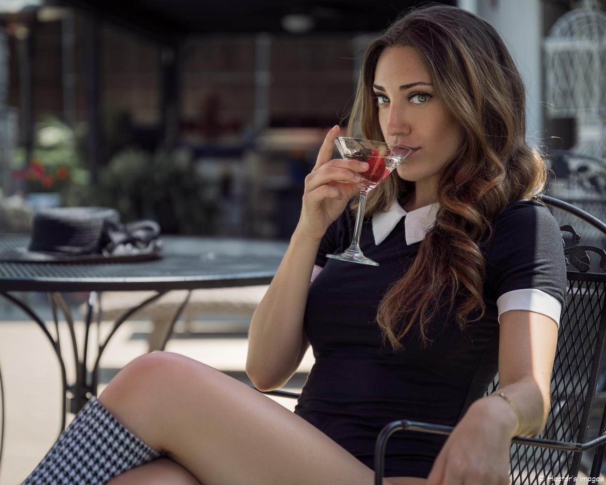 Nikki's Strawberry Martini by Hector Reyes